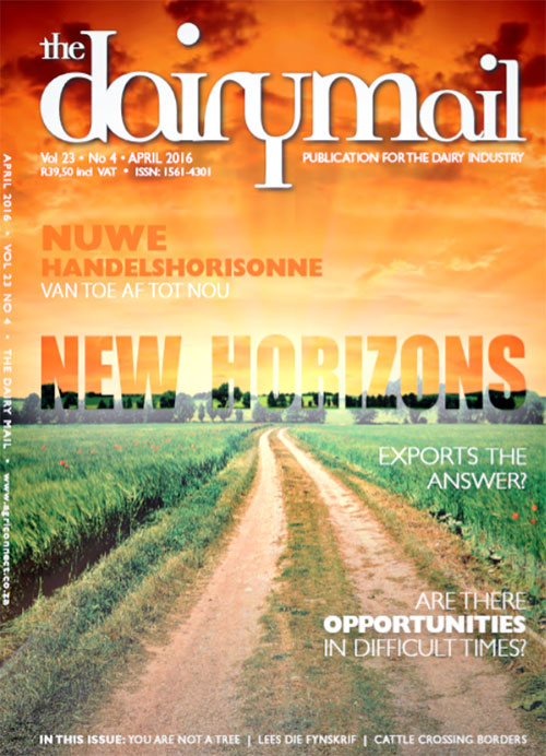 The Dairy Mail April 2016 Cover